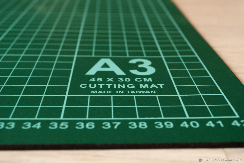 Мат для резки (раскроя) А3. Раскройный коврик, Инструменты, Санкт-Петербург,  Фото №1