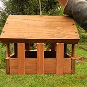 Для домашних животных, ручной работы. Ярмарка Мастеров - ручная работа Кормушка для птиц подвесная. Handmade.