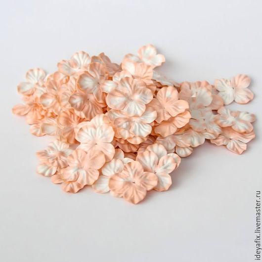 Цена указана за 10 цветочков.  Диаметр цветочков 3 см.