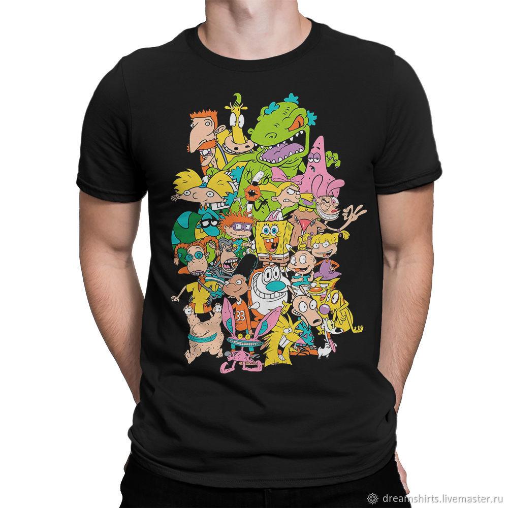 """Футболка хлопковая """"Любимые Мультики Nickelodeon"""", T-shirts, Moscow,  Фото №1"""