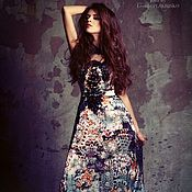 Одежда ручной работы. Ярмарка Мастеров - ручная работа Потрясающее  платье на корсете.. Handmade.
