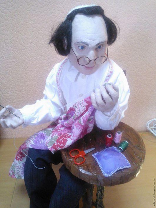 Авторская кукла Фима Портной