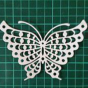 Материалы для творчества ручной работы. Ярмарка Мастеров - ручная работа вырубка Бабочка большая. Handmade.