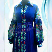 Одежда handmade. Livemaster - original item Dress Embroidery