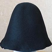Материалы для творчества ручной работы. Ярмарка Мастеров - ручная работа Фетр шляпный Black. Handmade.