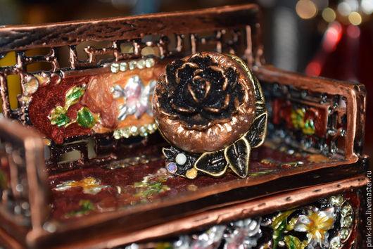 """Кольца ручной работы. Ярмарка Мастеров - ручная работа. Купить Скидка. Кольцо """"Рококо"""". Handmade. Кольцо, цветок, основа для кольца"""