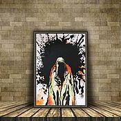 Картины ручной работы. Ярмарка Мастеров - ручная работа «Дух всесильный». Handmade.