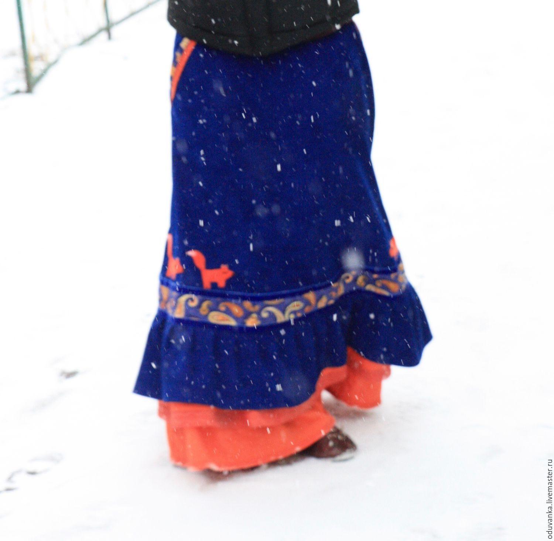 Яркая юбка с доставкой