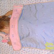 Для дома и интерьера ручной работы. Ярмарка Мастеров - ручная работа Одеялко двухсторонее для мальчика и девочки. Handmade.