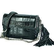 Сумки и аксессуары handmade. Livemaster - original item handbag crocodile skin. Handmade.