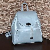 handmade. Livemaster - original item Model 126 leather Backpack. Handmade.