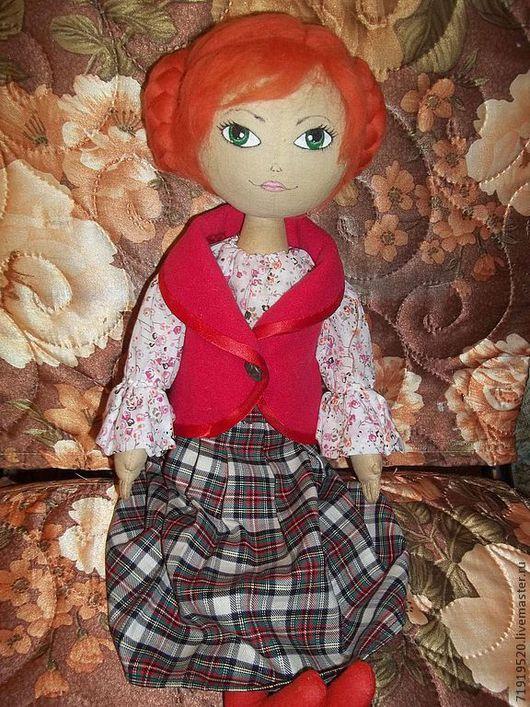 Куклы тыквоголовки ручной работы. Ярмарка Мастеров - ручная работа. Купить Кукла. Handmade. Кукла ручной работы, кукла текстильная