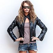 Одежда handmade. Livemaster - original item Jacket from natural Python skin. Leather jacket from a Python.. Handmade.
