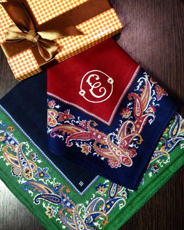 Носовой платок с вышивкой на заказ