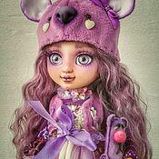 Куклы и игрушки handmade. Livemaster - original item OOAK. Violetta. Copyright jointed doll.. Handmade.