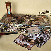 Для дома и интерьера handmade. Livemaster - original item Box box HOLMES IS ON the TRAIL. Handmade.