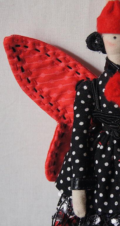 Куклы Тильды ручной работы. Ярмарка Мастеров - ручная работа. Купить кукла Тильда Бабочка. Handmade. Кукла Тильда