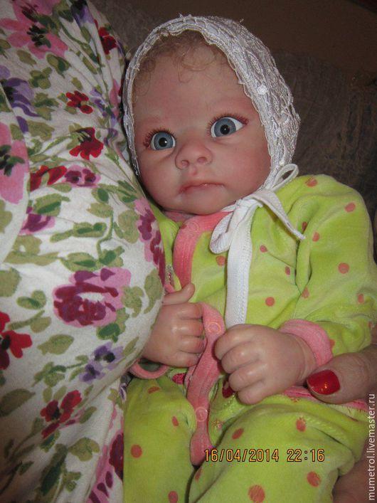 Куклы-младенцы и reborn ручной работы. Ярмарка Мастеров - ручная работа. Купить Кукла реборн  Алёшка. Handmade. Бирюзовый, винил