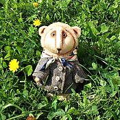 """Куклы и игрушки ручной работы. Ярмарка Мастеров - ручная работа Тедди львенок """"Лео"""". Handmade."""