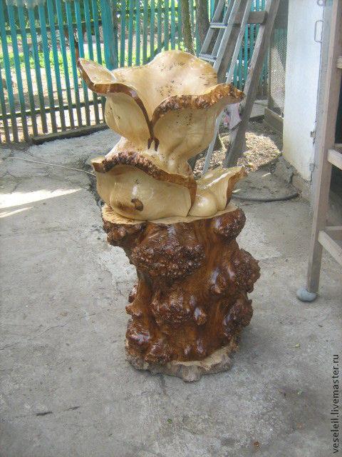 ваза из капы, Вазы, Мостовской,  Фото №1