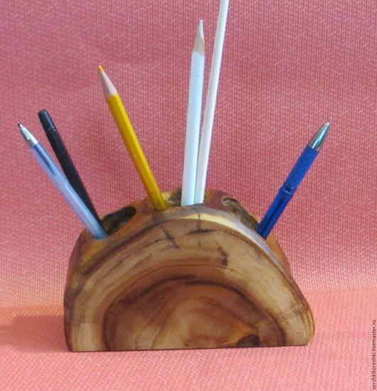 Карандашницы ручной работы. Ярмарка Мастеров - ручная работа. Купить карандашница, для ручек. Handmade. Коричневый, для кисточек, для детей, для сухоцветов
