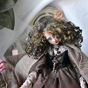 """Портретная кукла ручной работы. Ярмарка Мастеров - ручная работа Авторская композиция """"Туманное будущее"""". Handmade."""