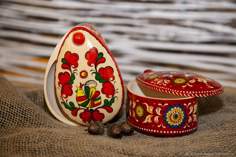 Шкатулка в форме яйца, Посуда, Мегион,  Фото №1