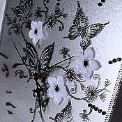 """Для дома и интерьера ручной работы. Ярмарка Мастеров - ручная работа Часы """"Дива"""". Handmade."""