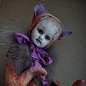 Куклы и игрушки ручной работы. Ярмарка Мастеров - ручная работа По мотивам первой тедди-долл. Фокси.. Handmade.