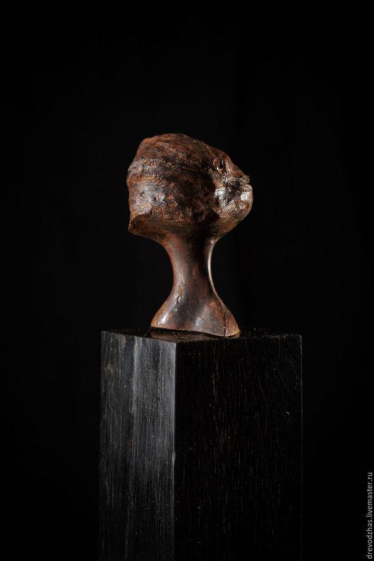 Элементы интерьера ручной работы. Ярмарка Мастеров - ручная работа. Купить Скульптура из Агарового дерева «Орех». Handmade. Скульптура, агар