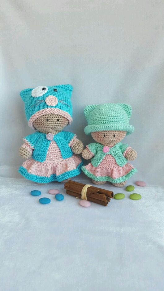 Человечки ручной работы. Ярмарка Мастеров - ручная работа. Купить Вязаная кукла. Handmade. Вязаные игрушки, вязаная кукла