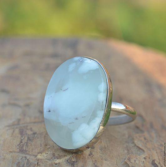 Кольца ручной работы. Ярмарка Мастеров - ручная работа. Купить Кольцо с хризопразом, мельхиор. Handmade. Натуральные камни, кольцо с камнем