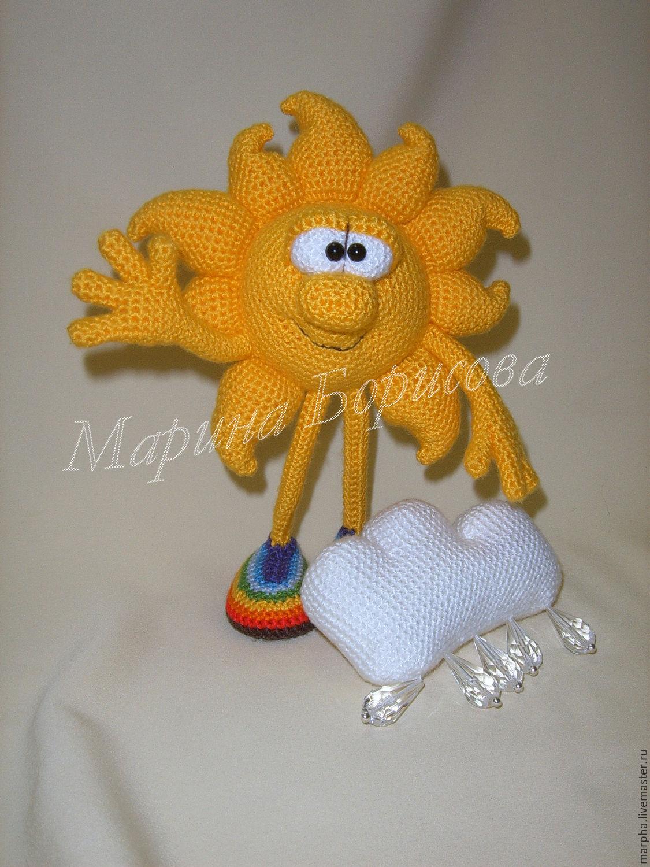 Солнышко своими руками из ниток фото 141