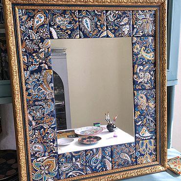 """Для дома и интерьера ручной работы. Ярмарка Мастеров - ручная работа Зеркало """"Турецкий огурец"""". Handmade."""