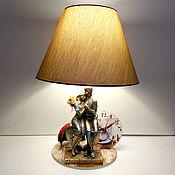 Для дома и интерьера handmade. Livemaster - original item Table lamp / decorative lamp Cozy Parisian cafe. Handmade.