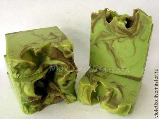 Мыло ручной работы. Ярмарка Мастеров - ручная работа. Купить Натуральное мыло(с нуля) Алеппское. Handmade. Оливковый
