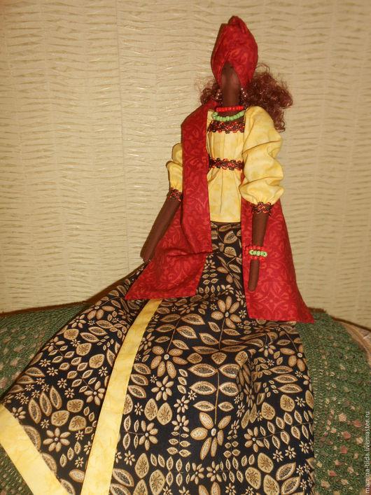 Куклы Тильды ручной работы. Ярмарка Мастеров - ручная работа. Купить Африканочка. Handmade. Коричневый, кукла ручной работы, кофе