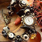 """Украшения ручной работы. Ярмарка Мастеров - ручная работа Часы-браслет """"Каменный цветок"""". Handmade."""