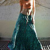 Одежда handmade. Livemaster - original item Cotton skirts of Rajasthan Gypsies. Handmade.