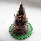 Для дома и интерьера handmade. Livemaster - original item Herringbone fur seals - a Christmas gift.. Handmade.
