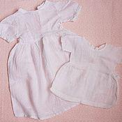 Винтаж ручной работы. Ярмарка Мастеров - ручная работа два винтажных хлопковых платья. Handmade.