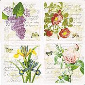Цветочная коллекция (BACR) - салфетка для декупажа