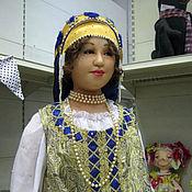 Куклы и игрушки ручной работы. Ярмарка Мастеров - ручная работа Кукла большая Девушка в русском костюме. Handmade.