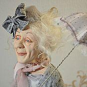 Куклы и игрушки ручной работы. Ярмарка Мастеров - ручная работа Кукла Мисс Дятлова (Две Черепахи). Handmade.