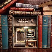 Для дома и интерьера handmade. Livemaster - original item Miniature Insert between the books