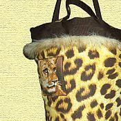 """Сумки и аксессуары ручной работы. Ярмарка Мастеров - ручная работа Сумка """"Леопард"""". Handmade."""