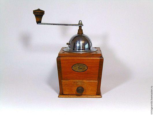 Винтажная посуда. Ярмарка Мастеров - ручная работа. Купить Старинная кофемолка Zassenhaus, Германия. Handmade. Коричневый, germany