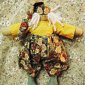 Куклы и игрушки ручной работы. Ярмарка Мастеров - ручная работа Солнечный ТИЛЬДА гном. Handmade.