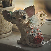Для дома и интерьера handmade. Livemaster - original item Aurora Devon Rex. Handmade.