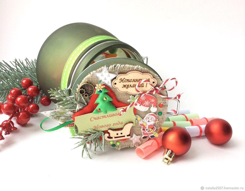 С новым годом Баночка пожеланий, Кукольные домики, Москва,  Фото №1